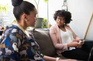 black women casual daylight eyeglasses